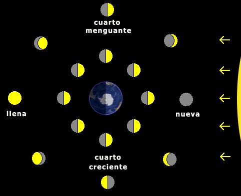 Observación | Unidad: Compañera de la Tierra: la Luna